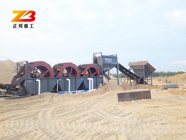广东肇庆轮式洗石粉设备