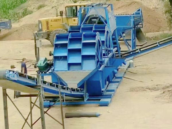 轮式洗石粉机械