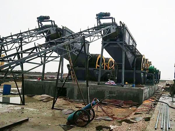 时产600吨轮式雷竞技竞猜生产线