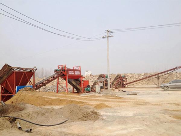 海南万宁挖斗洗砂设备