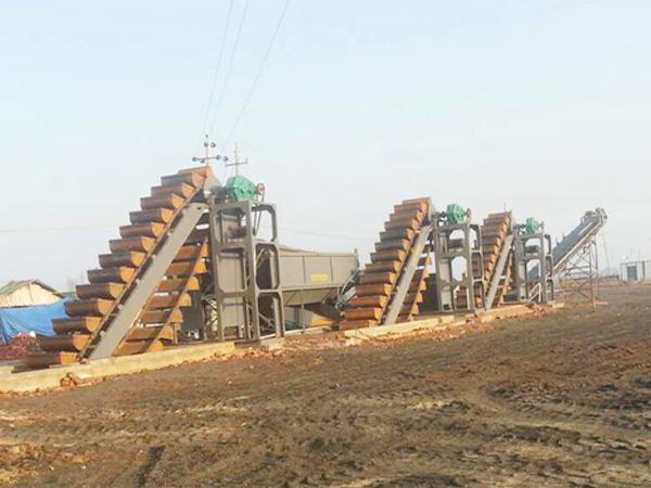 挖斗海沙淡化设备